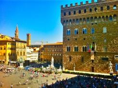 Piazza (Plaza) della Signora, Florence, Tuscany