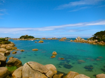 Saint Guirec coast