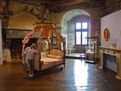 Inside Vitré chateau