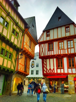 Vannes Half-timbered houses