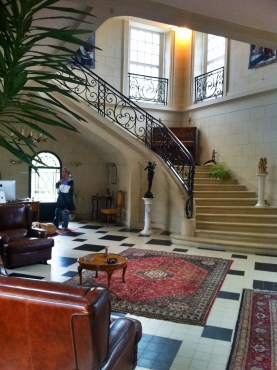 Chateau staircase/entry