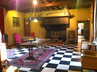 Chateau breakfast room