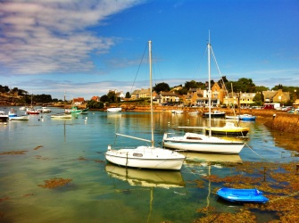 Small port of Saint Guirec