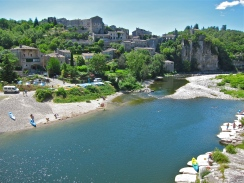 Balazuc on the Ardeche River