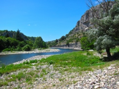 Ardeche River ride by kayak
