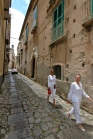 Walking the streets of Tropea
