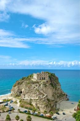 Chateau near Tropea