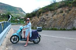 Scootering on Elba
