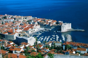 Old Dubrovnik's small port