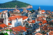 Dubrovnik view from the ramparts