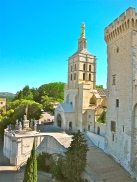 View of Avignon Cathedral from the Palais des Papes
