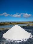 Harvested sea salt