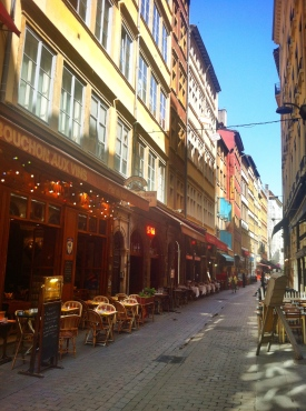 Restaurants at rue Merciere