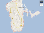 Map of Cap Ferrat Walking Trails