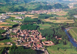 Aerial of Pollenzo