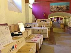 Banca del Vino, cellars of Agencia