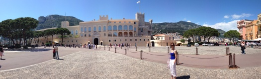 "On the ""Rock"" of Monaco, the Palace"