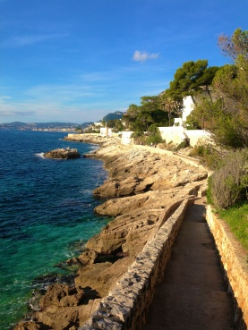 Sentier from Cap d'Ail to Monaco