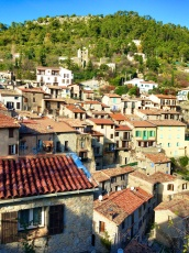 Hillside homes of Peille