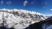 The village of Auron