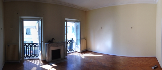 Before: Living room