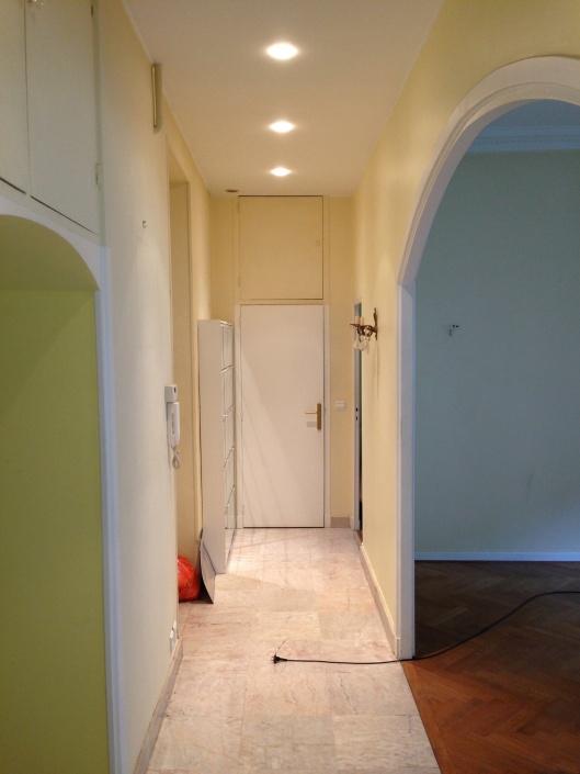Before: Hallway