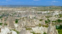 Panoramic view above Goreme