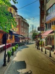 Instanbul Restaurant Street: Tecaresthane