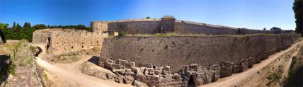 Ramparts and Moat walls of Rhodes