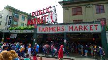 Pike Street Public Market in Seattle
