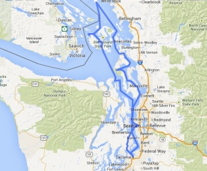 Route of the Sockeye Blue