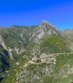 Road north of Coaraze