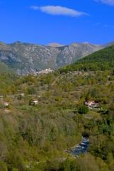 Belvedere as seen from Lantosque