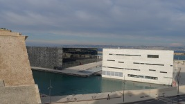 Modern Museum of Mediterranean Civilizations in Marseille