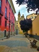 Zaragoza old town street