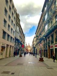 Main shopping street of Zaragoza