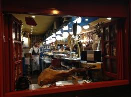 Tapas bar in Zaragoza