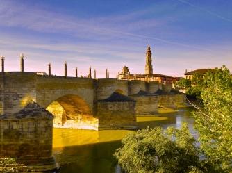 Bridge over the river Ebro