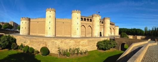 Ajafería Palace, Zaragoza, Spain
