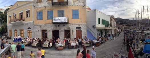 Great, fun restaurant, Pantelis, in Symi