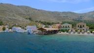 Symi seashore restaurant