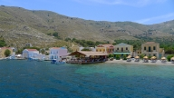 Symi seashore restaurant