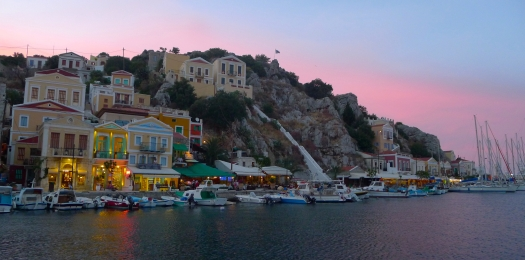 Symi at Sunset
