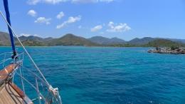 Entering Bozburun Harbor