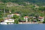 Shoreline of Selimiye looks like a lake.