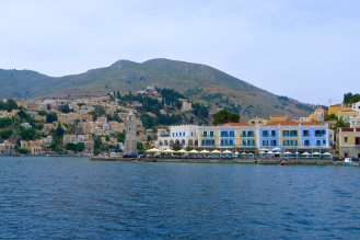 Just outside Symi harbor
