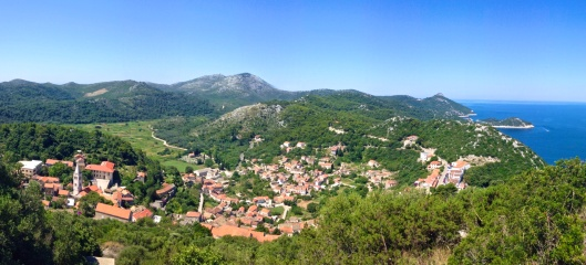 Lastovo Town, Croatia