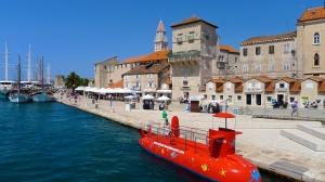Port promenade of Trogir