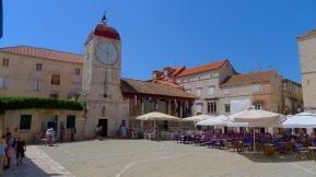 Plaza in Trogir