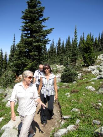 Hiking Blackcomb mountain